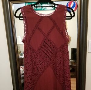NWT Wine dress